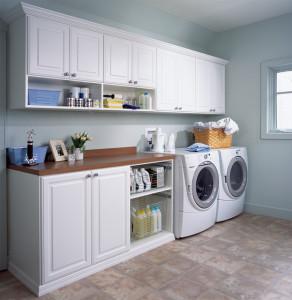 vårstädning av tvättstuga